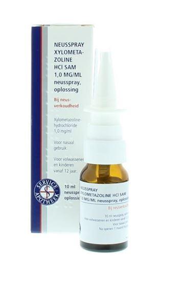 Bild von Nasenspray Xylometazolin 1mg/ml-10 ml