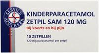 Sam Kinderparacetamol 120 mg 10 Zäpfchen