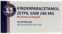 Service Apotheek Kinder paracetamol 240 mg