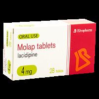 Lacidipin 4mg 28tb