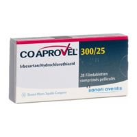 CoAprovel 300/25mg 28tb
