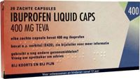 Bild von Ibuprofen 400 mg LIQUID 20 Kapseln TEVA