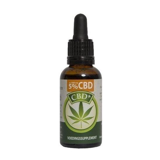 Jacob Hooy CBD Plus Öl 5% 30ml