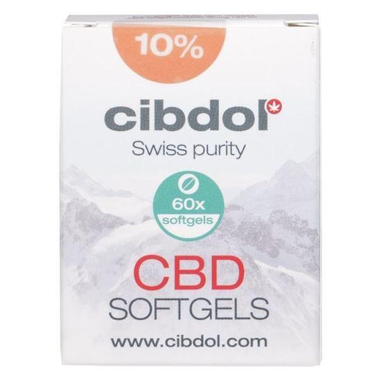 Cibdol 10% CBD 60 Softgel-Kapseln