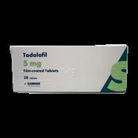 Tadalafil 5 mg 28 tbl