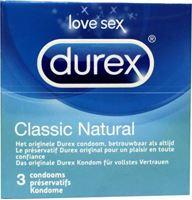 durec classic natural kondome 3 stk