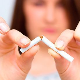 Ein niederländische Antirauch-Kampagne - Stoptober
