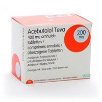Acebutolol 200 mg