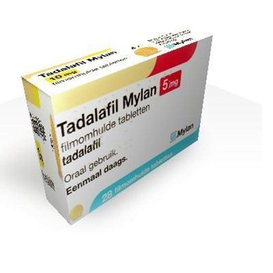 Tadalafil 5 Mg Mylan 28 Tabletten