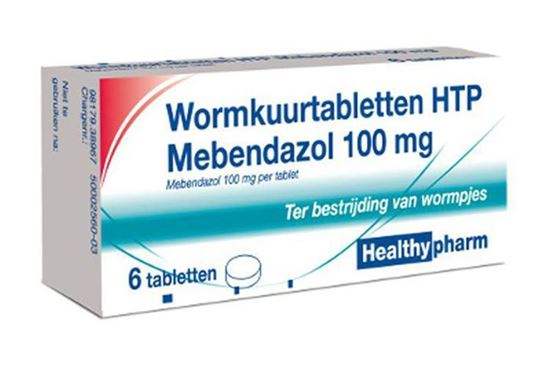 Mebendazol Wurmkur Tablette 100mg