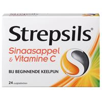 Strepsils Orange & vitamin C 24 Lutschtabletten
