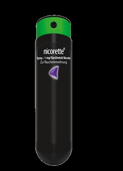 NICORETTE® Spray: Das Nikotinspray