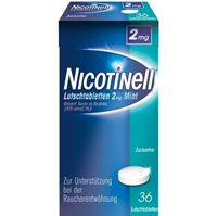 Nicotinell® 2 mg Lutschtabletten 36 st.