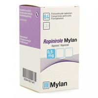 Ropinirol Mylan-Dura® 0,5mg 84 Tabl.
