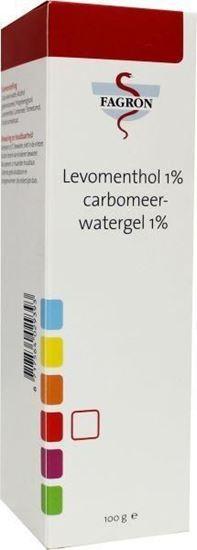 Fagron menthol 1% Carbomer 1% gel, 100 g