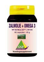 SNP Lachsöl + Omega 3+ Vitamin D3 60 Kapseln