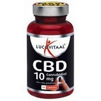 Lucovital CBD Cannabidiol 10 mg 30 Kapseln