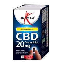 Lucovital Cannabidiol CBD Kapseln 20 mg