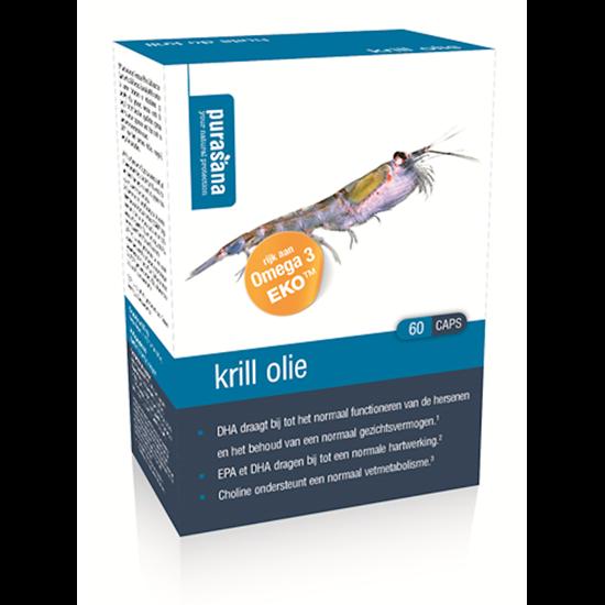 Pursana Krill Öl 500 Mg 60 Kapseln