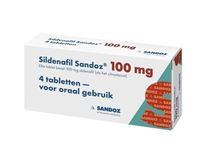 Bild von sildenafil 100 mg 4 tbl