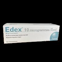 Edex 10 Mcg Pulver Und Lösungmittel 2 Stk.