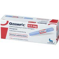 Ozempic 0,5mg Injektionslösung im Fertigpen
